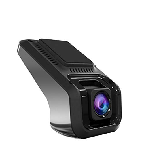 fang FANS Auto Full HD 1080P Dash Camera Auto Kamera Autokamera USB-Auto-DVR, der Recorder-Kamera HD 1080P Mattnachtversion 170 weit fährt, Bewegungserkennung, Parkmonitor (Black)