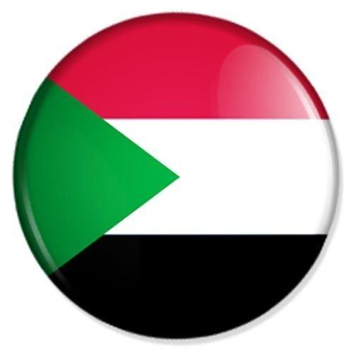 Preisvergleich Produktbild Flagge Sudan Kühlschrankmagnet Magnet Magneten Pinnwand Magnet Pinnwand