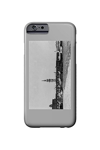San Francisco, California - Bay View of the Ferry Terminal Bldg (iPhone 6 Cell Phone Case, Slim Barely There)