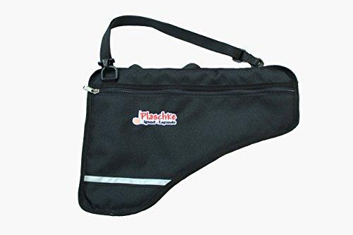 Panflötentasche für Panflöten mit 18-22 Rohre mit Extrafach, Schulterschlaufe, Handschlaufe und Plaschke-Logo