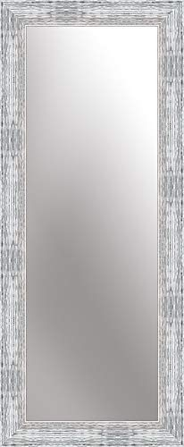 nielsen HOME Wandspiegel Chiara, Silber Weiß, ca. 50x150 cm