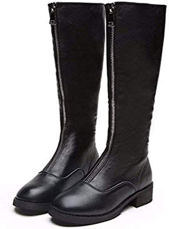 SED Le donne 'S stivali a a a Warm Winter All-Match Zipper scarpe di cotone spesso,36 Eu,Nero | Ordine economico  | Scolaro/Ragazze Scarpa  878c20