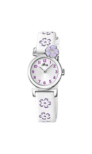 a2bdbac43 Lotus Reloj Análogo clásico para niñas de Cuarzo con Correa en Cuero ...