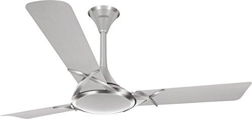 Luminous Deco Premium Deltoid 1200mm Ceiling Fan (Silver Chrome)