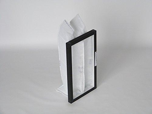 Filtro di ricambio in plastica cornice G4per hoval homevent RS 250(Filtro di scarico) (1Filtri)