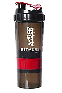 Prteet Stainless Steel Vaccum Water Bottle 500ml (Spider Shaker)
