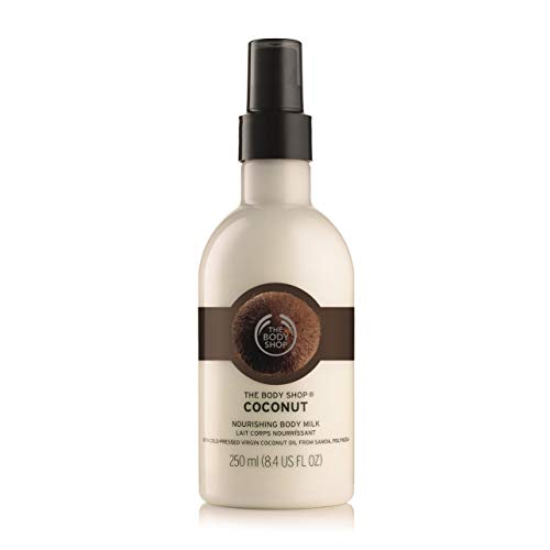 The Body Shop Coconut Body Milk unisex, Kokos Körpermilch 250 ml, 1er Pack (1 x 250 ml)