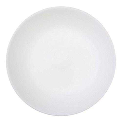 Corelle  Speiseteller Winter Frost White aus Vitrelle-Glas 26cm, 6er-Set, weiß (Weiß Correlle Teller)