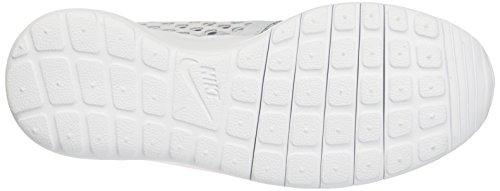 Nike Roshe One Flight Weight Gs, Entraînement de course fille Gris (Grigio (Pure Platinum/Pink Blast)Pure Platinum/Pink Blast)