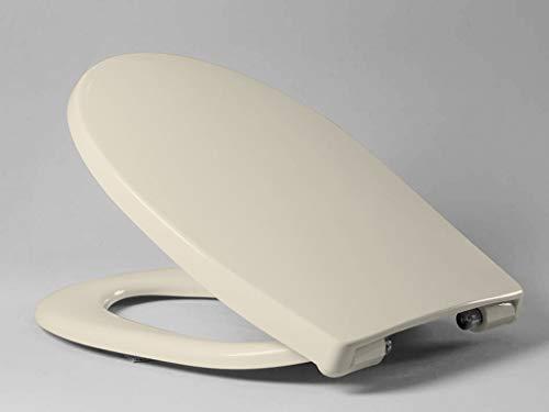 Haro WC-Sitz Passat C0202Y mit SoftClose Deckel und Excenterscharnier aus edelstahl, 1 Stück, jasmin, 522397