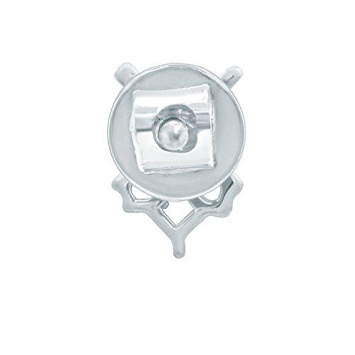 Giantti Diamant pour femme pendantes Boucles d'oreilles (0,16CT, qualité HSI, Gh-colour)