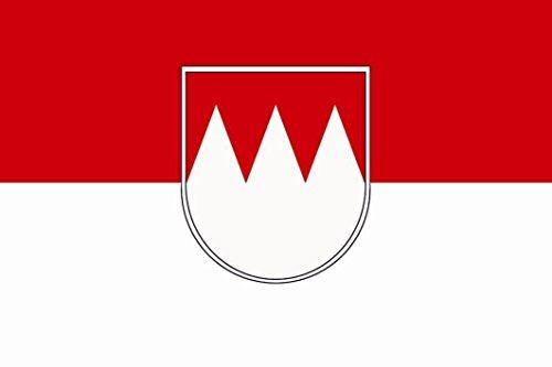 U24 Fahne Flagge Franken Bootsflagge Premiumqualität 20 x 30 cm