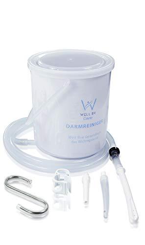 Well B4 Care Einlaufset für Darmeinlauf (BPA- Und Phthalatfrei), Einlauf zur Darmreinigung mittels Irrigator, 2 Liter