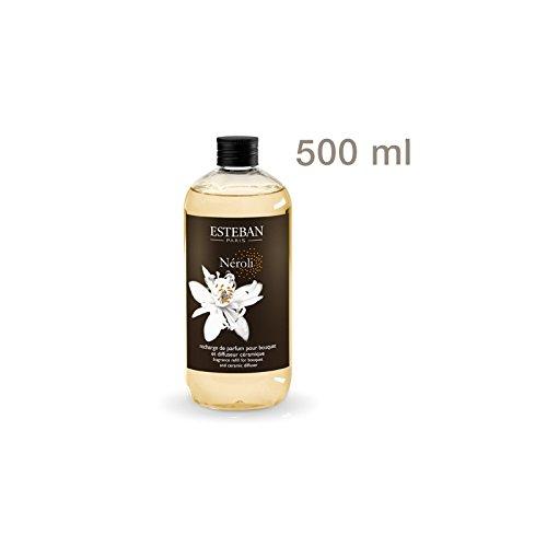 Esteban Paris - Ricarica di profumo 500ml NEROLI per bouquet e diffusore in ceramica NER-044