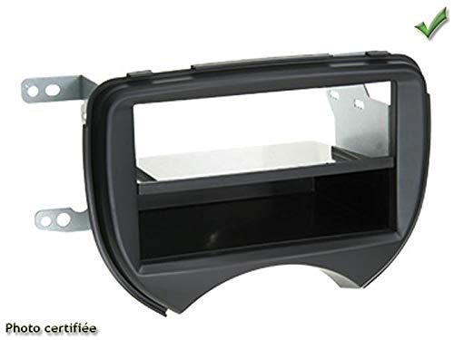 Silim KIT 2 DIN Nissan MICRA 2010 2013 (K13) Noir