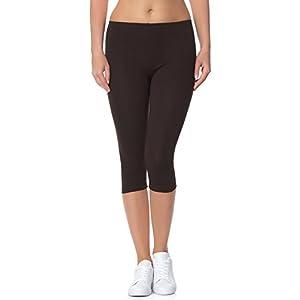 31qyBp2fSEL. SS300  - Ladeheid Women's Leggings 3/4 LAMA01