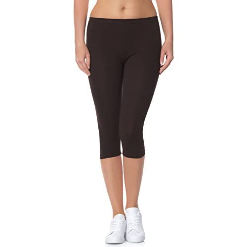 31qyBp2fSEL. SS500  - Ladeheid Women's Leggings 3/4 LAMA01