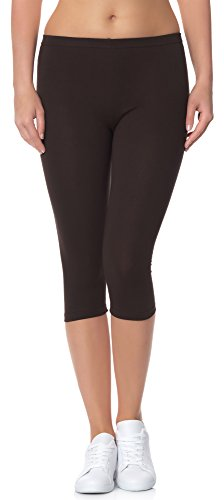 Ladeheid Women's Leggings 3/4 LAMA01
