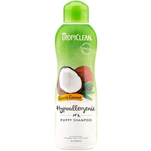 Hypo Allergenic Gentle Coconut Puppy shampoo, 20 oz/ 592 ml