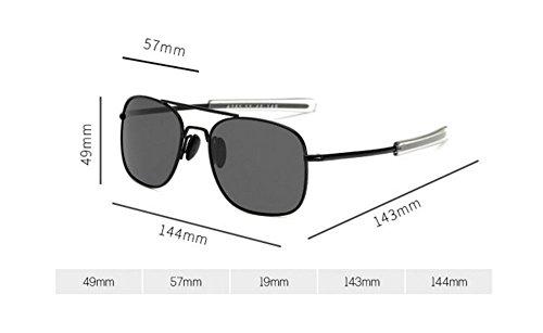 Mejores Gafas de sol cuadradas de aviador Steampunk con cristales polarizados, al mejor precio, Moda Steampunk, disfraz Steampunk