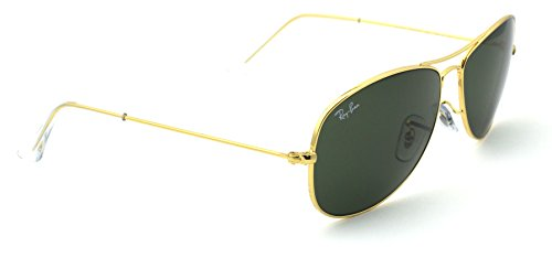 Ray-Ban RB3362 001 Cockpit Gold Frame / Green G-15 Lens 56mm