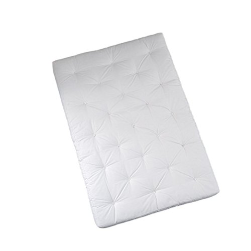 Karup Kommune Coco Mattress 160cm Matratze, Baumwolle/Polyester, Natur 901, 200x 160x 16cm - Baumwoll-polyester-matratze