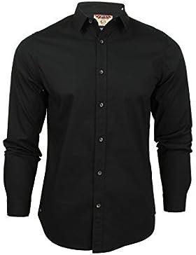 Tokyo Laundry - Camisa casual - Clásico - Manga Larga - para hombre