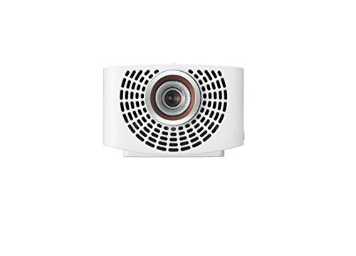 LG Beamer PF1500G bis 304,8 cm (120 Zoll) CineBeam Full HD LED Projektor (1400 Lumen, Optischer Zoom, 4-Punkt Trapezkorrektur), weiß -