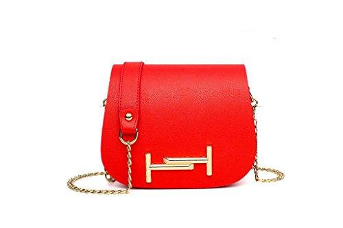 Nuove borse, signore di modo del sacchetto di spalla di modo, sacchetto della catena per il tempo libero, spalla, Messenger bag red