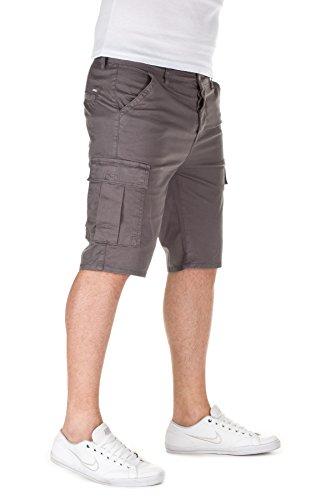 Yazubi Herren Chino Bermuda Shorts Ryze grey (11903)