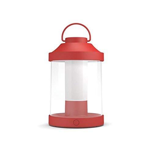 Philips Lighting MyGarden Abelia Farol LED portátil, 3 W, Rojo