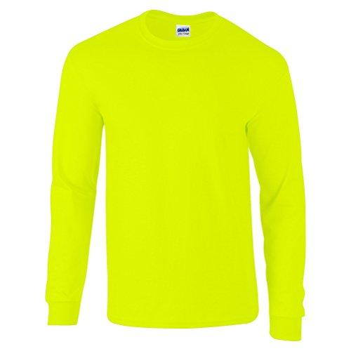 Gildan Herren T-Shirt Grün - Grün (Safety Green)