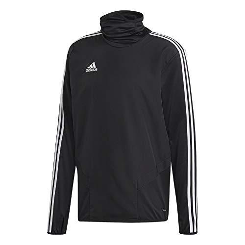 adidas Herren TIRO19 WRM TOP Sweatshirt, Black/White, M