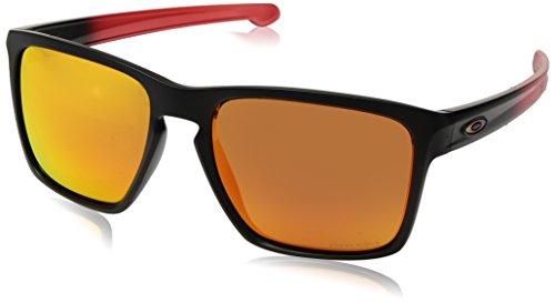 Ray-Ban Herren Sliver Sonnenbrille, Schwarz (Negro), 56