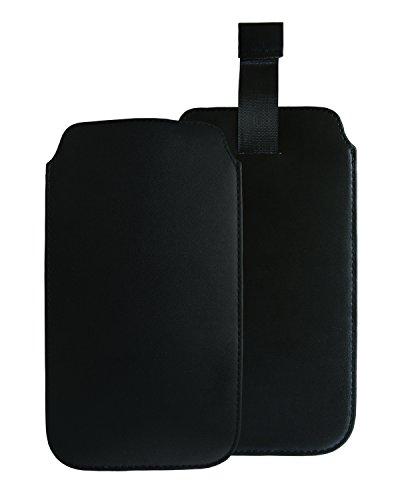 """Preisvergleich Produktbild Slabo Schutzhülle für Gigaset GS160 Schutztasche Handyhülle Case aus """"PU-Leder"""" - SCHWARZ / BLACK"""