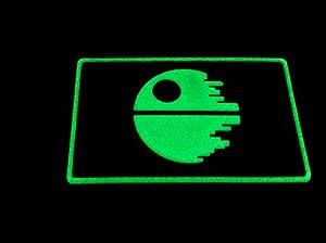 étoile de la mort Jedi Airsoft Paintball PVC Moral Patch
