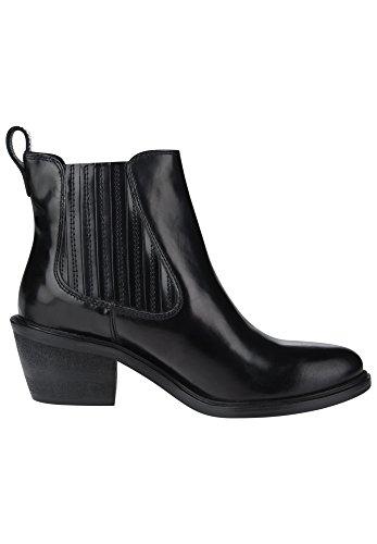 Maruti »HALEY BRUSH OFF LEATHER« Stiefelette, schwarz, EURO-Größen, black