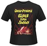 Deep Purple - T-Shirt Rises over Japan (in XL)
