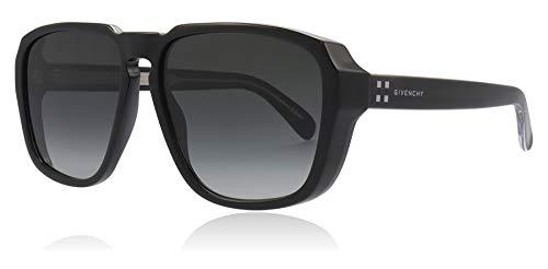 Givenchy Sonnenbrillen 4G SQUARE GV 7121/S BLACK/GREY SHADED Herrenbrillen