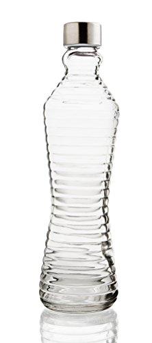 Quid 7522006 - Botella con tapa Line Transp Quid , 1 l, color transpar