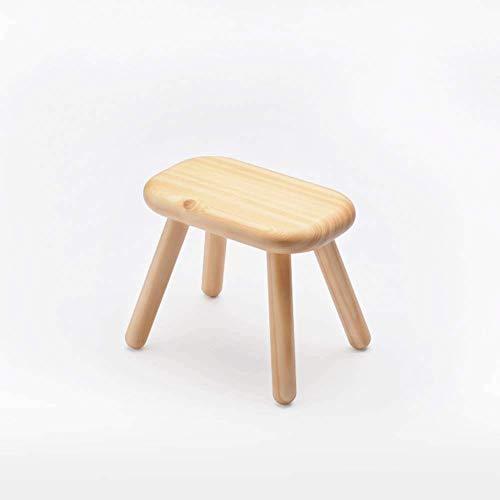 LJX-marryjgo Antique Revival Wood Tritthocker/Akzent aus Mahagoni in Chic Leicht Distressed Finish (Platz Sitz, für den Heimgebrauch) - Mahagoni-holz-finish Couchtisch