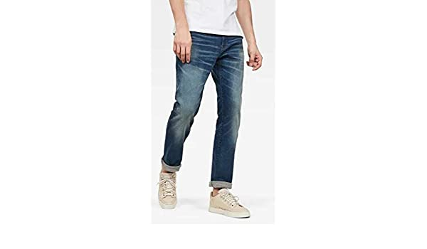 G STAR RAW Riban Tapered Jeans Homme: : Vêtements