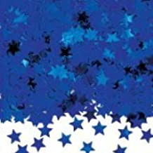 Metallic Royal Blue Stardust Star Table Confetti (struts-12130) by Struts Fancy Dress