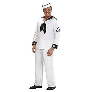 WIDMANN Widman - Disfraz de marinero navy para hombre, talla L (57723)