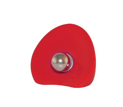 Zak Designs 0050-300 Porte Recette Magnétique Polyrésine Rouge