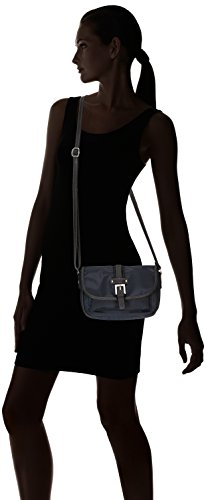 Gerry Weber Lemon Mix 4080002573, Borsa a tracolla Donna Blu (Blau (blue/black 049))