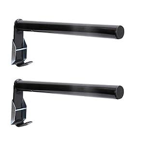 AMKA Sattelhalter klappbar 2 Stück Sattelhalter mit Haken