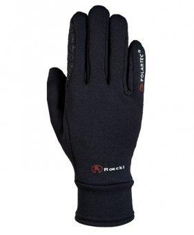 Roeckl Sports Winter Handschuh Warwick Unisex Reithandschuh, Schwarz, 7,5