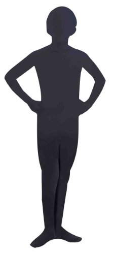 Invisible Man Child Costume Black Skin Suit (Invisible Kid Kostüm)