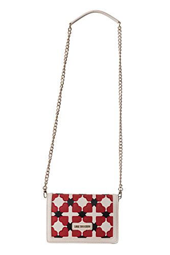 Love Moschino Checked Heart Sac à bandoulière multicolore